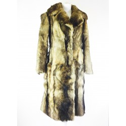 manteau en renard