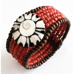 bracelet ethnique en perles