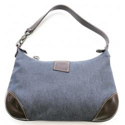 jeans and leather bag