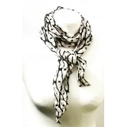 silk vintage scarf